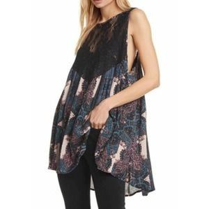 NWT Free People Count me in Trapeze Tunic Dress